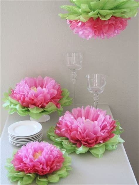 Tissue Paper Flowers Hanging Decoration by 25 Best Ideas About Paper Flower Centerpieces On
