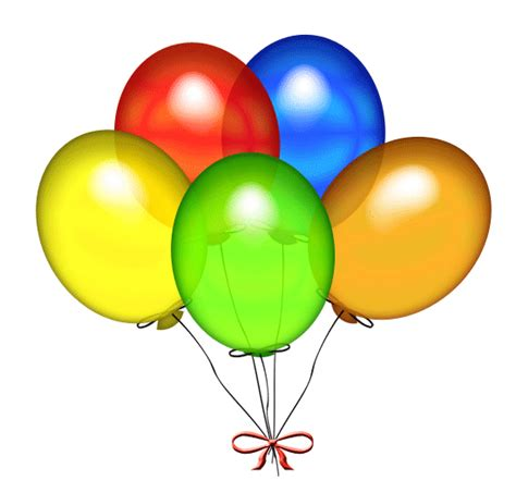 Birthday balloon clipart best