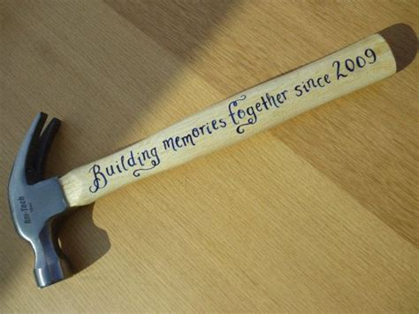 doing my best for him organizing the 5th wheel kitchen personalised 16oz hammer hand painted using enamels