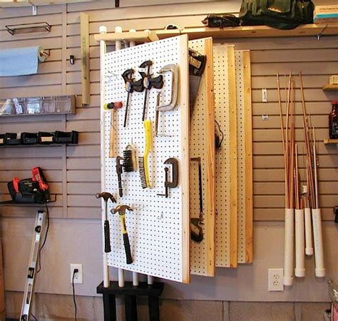 Idées pour ranger l'atelier et le garage