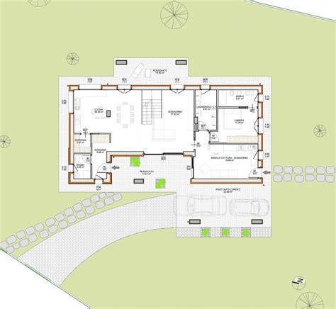 pianta casa unifamiliare progetto casa unifamiliare due piani semplice e comfort