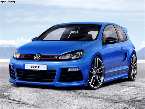 blue volkswagen volkswagen golf gti blue wallpaper 1280x960 18035