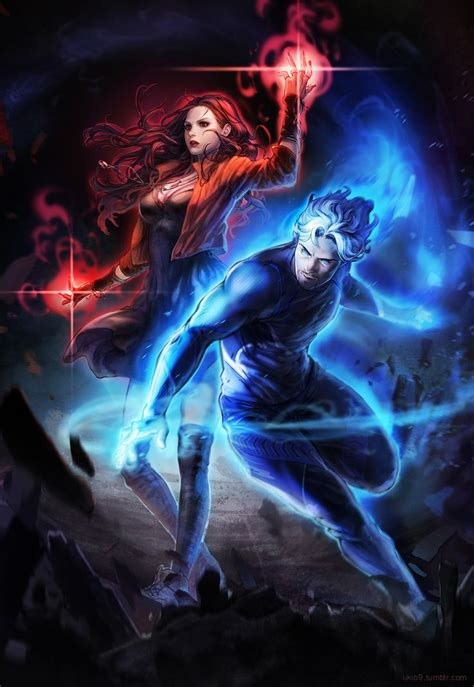 quicksilver fan film avengers age of ultron scarlet witch quicksilver