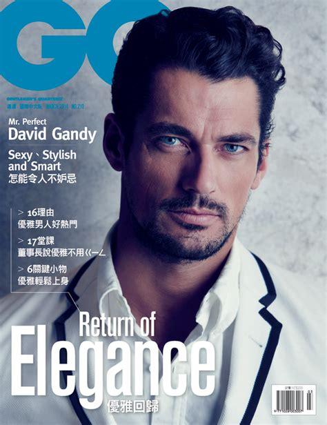 david gandy named best model at spanish gq men of the year david gandy for gq taiwan by chiun kai shih