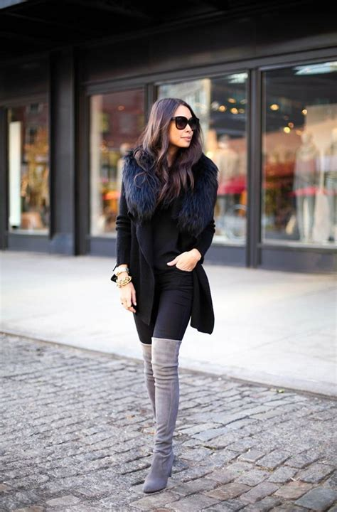how to wear thigh high boots 2018 fashiontasty