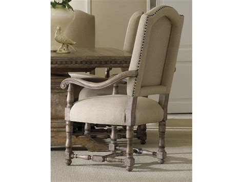 dining room arm chairs upholstered hooker furniture dining room sorella upholstered arm chair