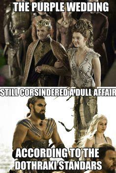 Purple Wedding Meme - dracarys on pinterest game of thrones jon snow and