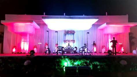 wedding stage decoration lighting Wedding Planners Pune