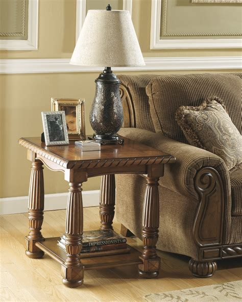 ashley furniture accent tables t486 3 ashley furniture brockton rectangular end table