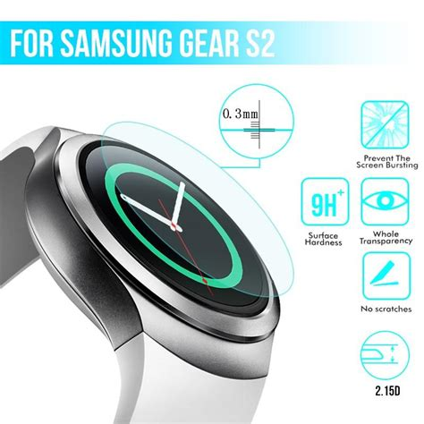 Tyrex Tempered Glass Screen Protector For Samsung Gear S3 1 11street your everyday marketplace
