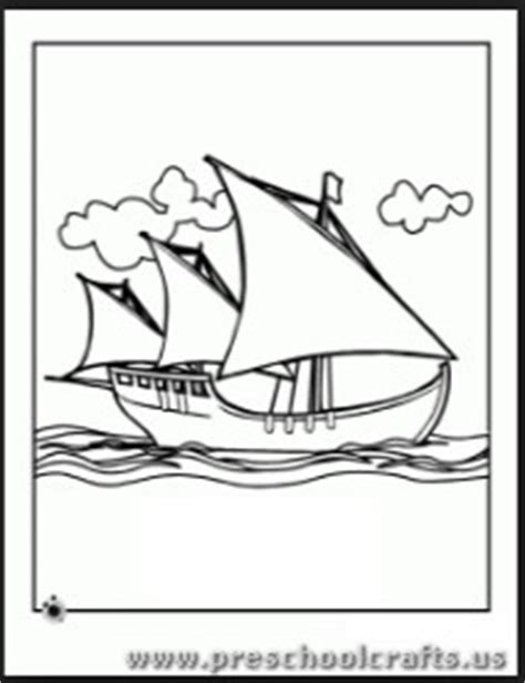 columbus day coloring pages for kindergarten columbus day coloring pages for kids preschool and