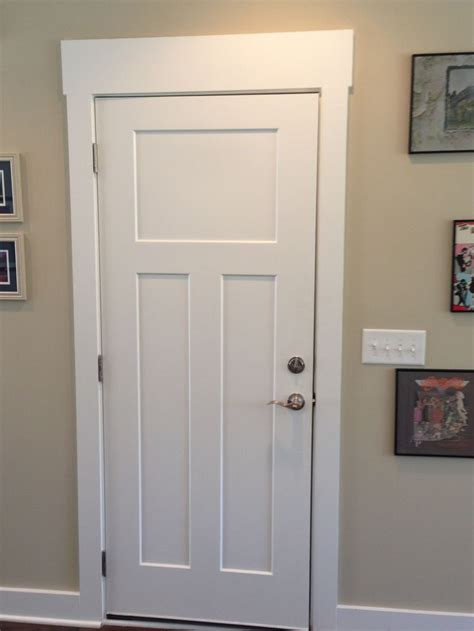 Interior Trim Styles | craftsman craftsman interior door pinterest door