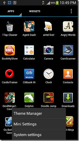 themes mini launcher free android launcher app mini launcher