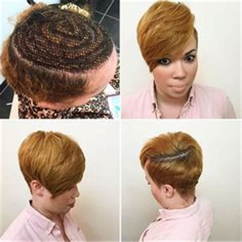short hair sew in for white nice sew in by hairbyuno http community