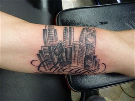 chi town tattoo back