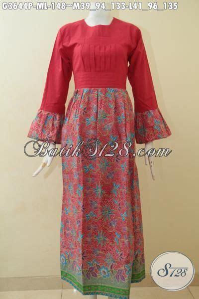 Q4 Bawahan Wanita Bawahan Muslim Celana P Kode E6572 2 gamis batik warna merah dengan bawahan bermotif trendy nan mewah abaya batik model terbaru