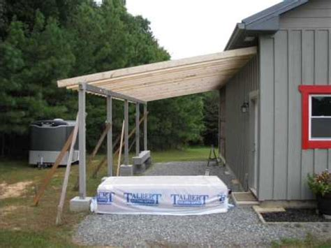 Garage Add Ons Designs my diy barn lean to built with small office space youtube