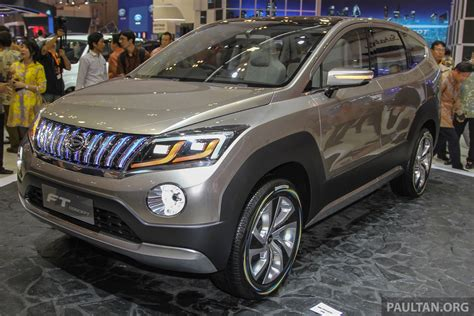 Caver Selimut Mobil All New Terios giias 2015 daihatsu ft concept going the suv path