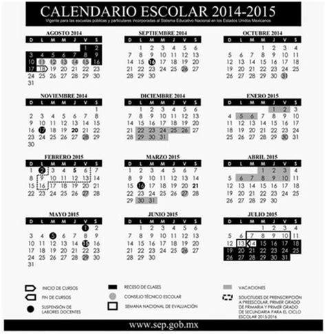 Calendario Escolar Uaemex 2015 M 233 Xico Calendario Escolar 2014 2015 Paperblog