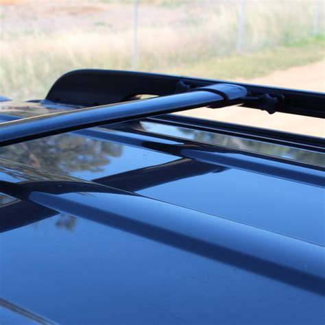Low Profile Roof Rack Cross Bars toyota landcruiser 200 series flush low profile roof rack