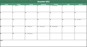 excel monthly calendar templates 2013 monthly calendar template for excel