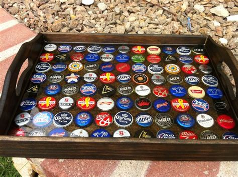 how to make a bottle cap table how to build a bottle cap tray and what not to do