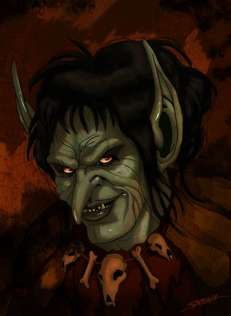 legend film goblin blix the leader of the goblins from the movie legend