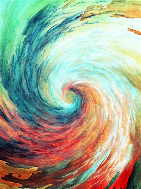 painting free for android colorful spiral watercolor android wallpaper free