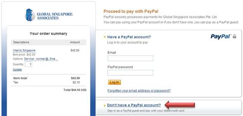Paypal Gift Card Singapore - pay for a russian voucher invitation global singapore visa centre global