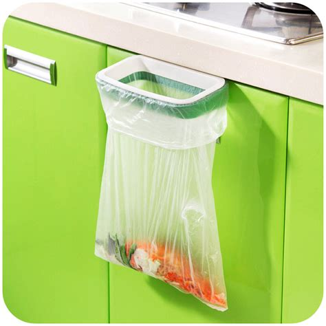hanger stand multifungsi be hanging kitchen cupboard door back style stand trash