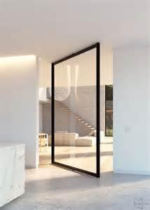 Glass Door Pivot Best 25 Pivot Doors Ideas On Houston Architecture Glass Door Hinges And Doors With