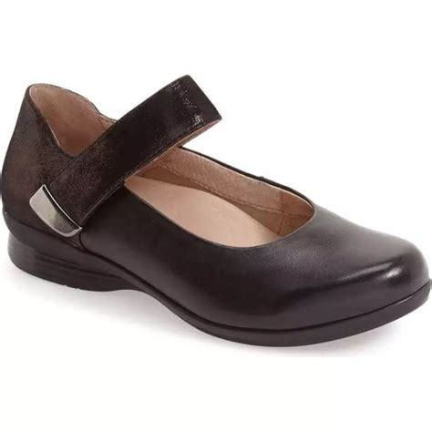 Dansko Dansko Audrey Mary Jane Flat Comfort Shoes From