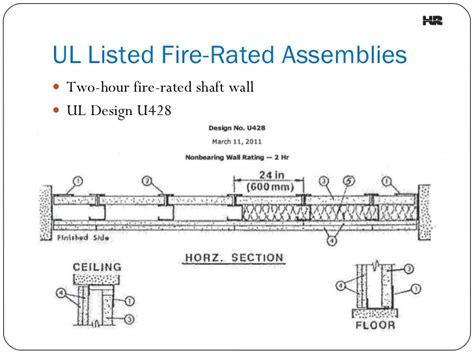 1 Hr Ceiling Plywood Floors - understanding assemblies