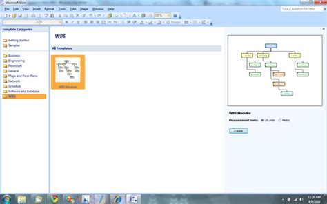 visio file structure template visio 2003 work breakdown structure template free