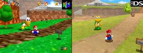 wii vs n64 graphics system mario 64 ds and more coming to wii u console