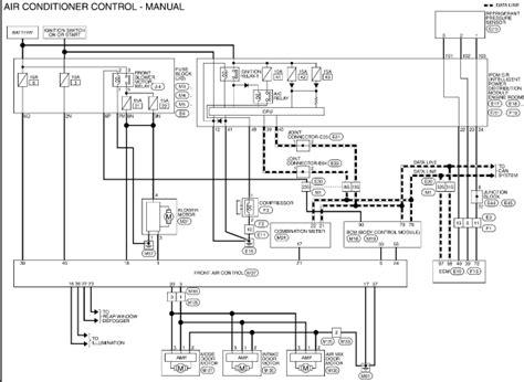 nissan an ac wiring diagram ac manifold diagram ac