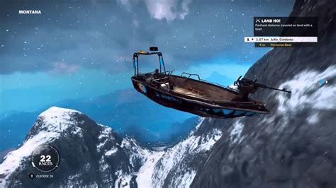 boats just cause 3 just cause 3 boat sledding youtube