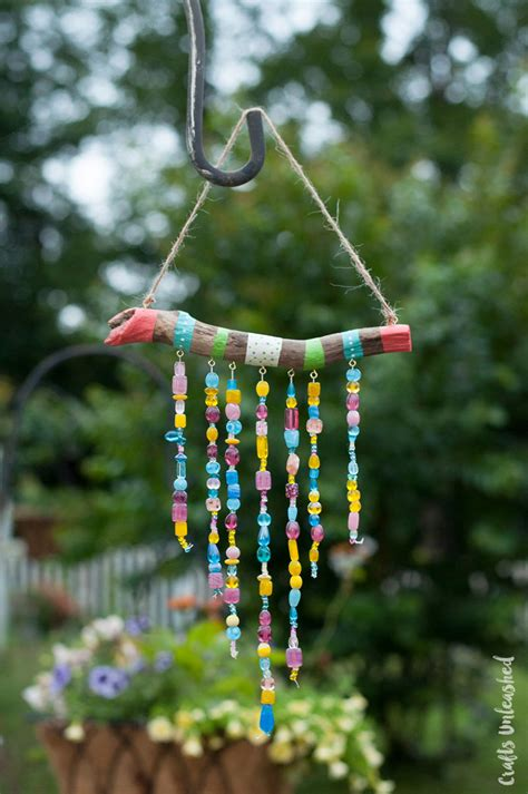 diy beaded wind chimes beaded diy wind chimes for