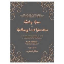 Unique Wedding Invitation Wording Examples Modern Love Invitation Sample Crafty Pie Press
