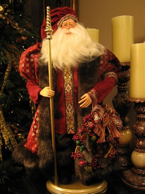 Handcrafted World Santas - reproductions world st nicks handmade original