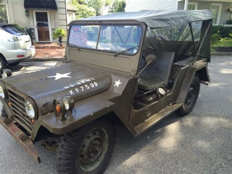m151 jeep for sale 1965 m151 by ford for sale photos technical
