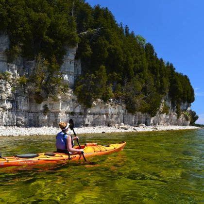 Kayaking In Door County by Kayaking Door County And Doors On