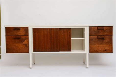 60s modern furniture 60s modern lacquered walnut credenza at 1stdibs