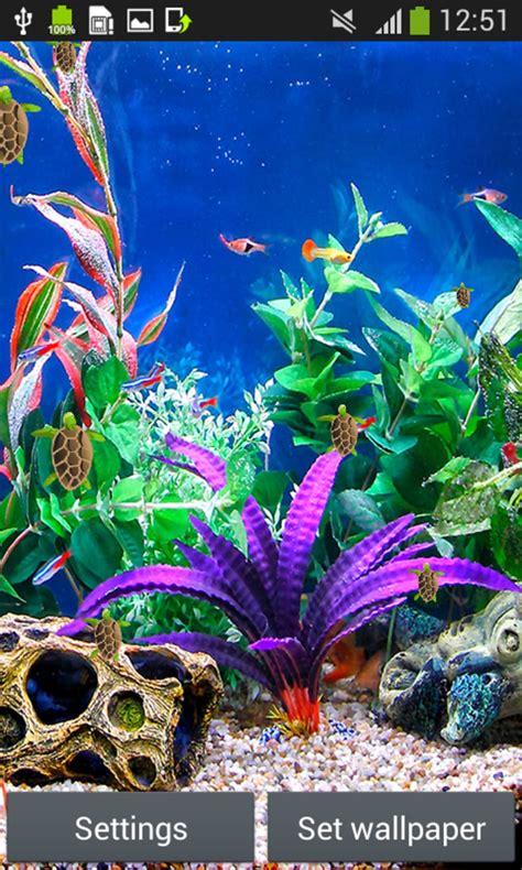 Live Aquarium Wallpaper For