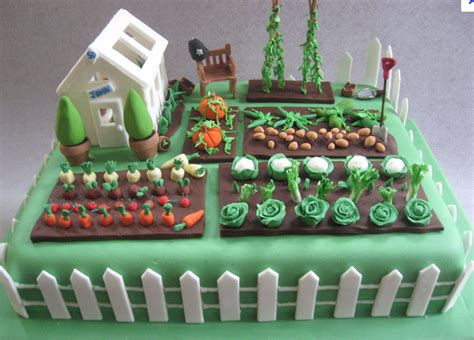 Birthday Quiz Time Parks And Gardens Uk Vegetable Garden Cake