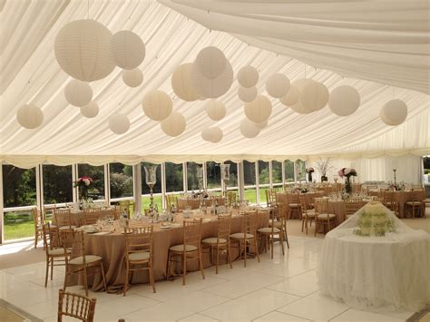 Marquee Ceiling Decorations by Wedding Marquee Ceiling Decorations Www Energywarden Net