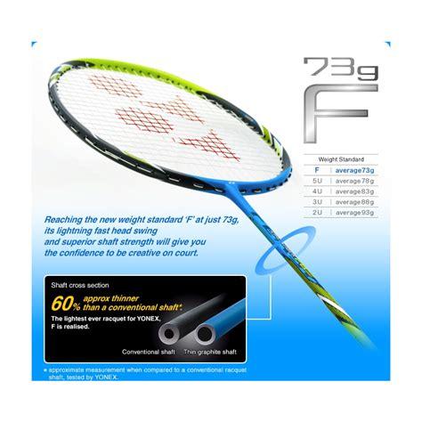 Raket Yonex Arcsaber Fb yonex arcsaber fb arcfb flash boost g4 badminton racket