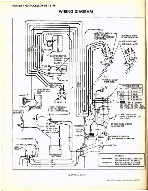 1965 corvette wiring diagram wiring diagram with description