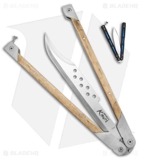 bradley kimura butterfly knife bradley cutlery titan kimura butterfly knife white