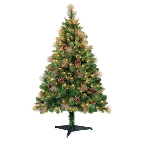 trim a home brilliant tree trim a home 174 4 5 pre lit geneva pine tree